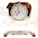 dwの腕時計を楽天で購入するのはお得か?36mmは女性には大きい?